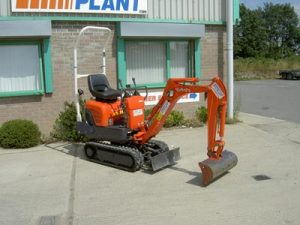 0.8 tonne Mini Excavator