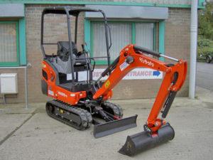 1.5 tonne Mini Excavator
