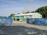 Didcot Plant buildings and yard