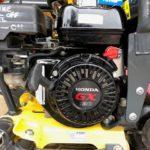 Close up of a Honda engine