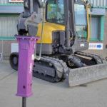 Hydraulic Breaker for 9.0 tonne Excavator