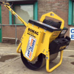 Bomag 71E Single Drum Pedestrian